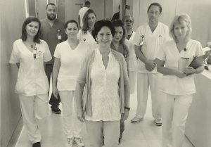 צוות רפואי בבית חולים